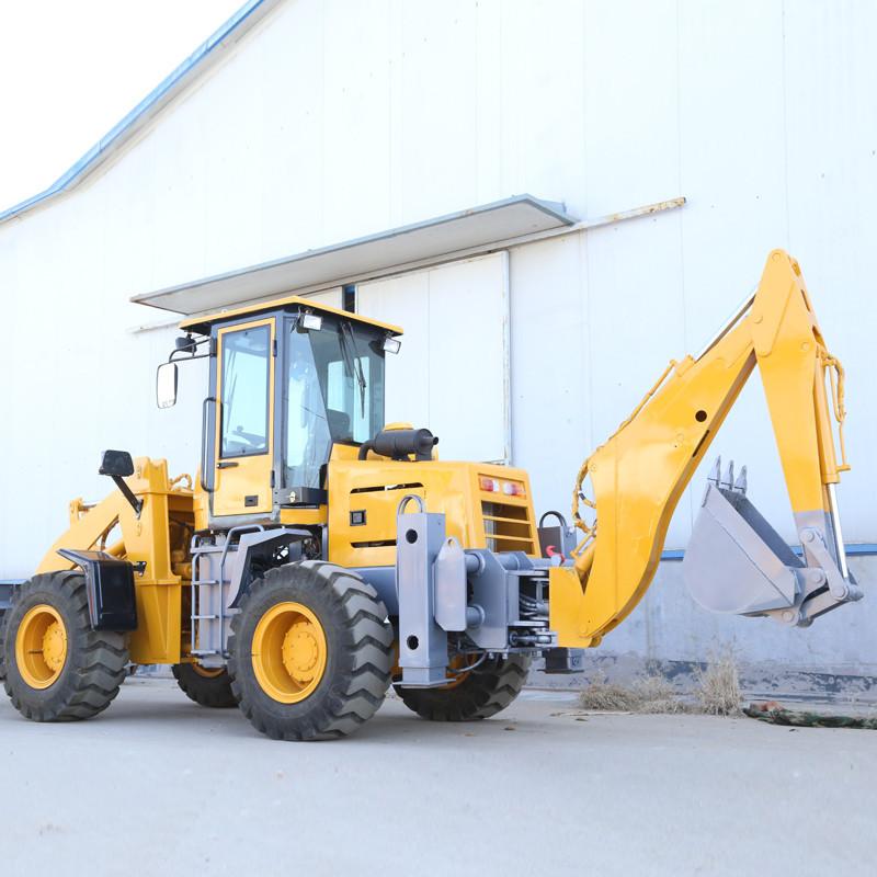 节能高效两头忙挖掘装载机 WZ15-30两头忙挖掘装载机 山立机械