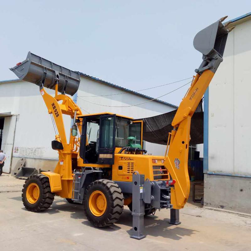 维修简单好保养 厂家直销挖掘装载机 优质挖掘装载机 操作简单