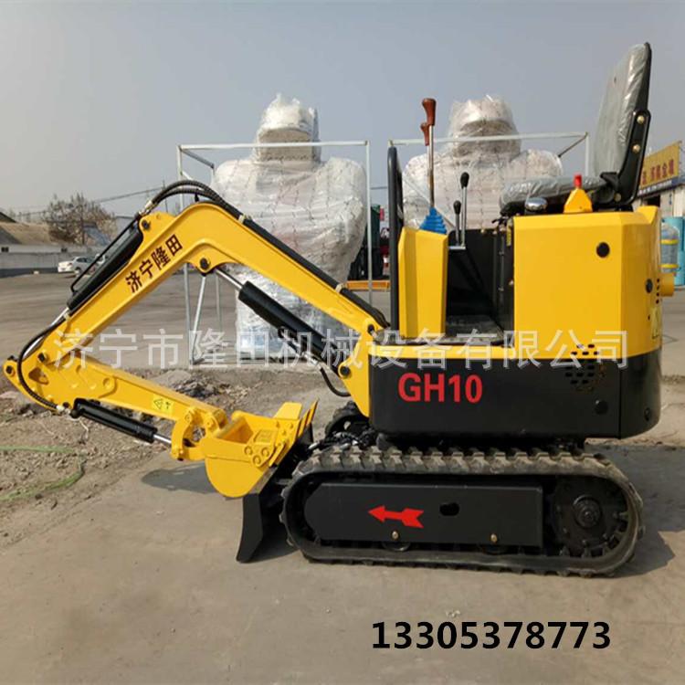 360度旋转挖掘机 果园专用迷你挖沟机 1.8吨挖掘机 现货