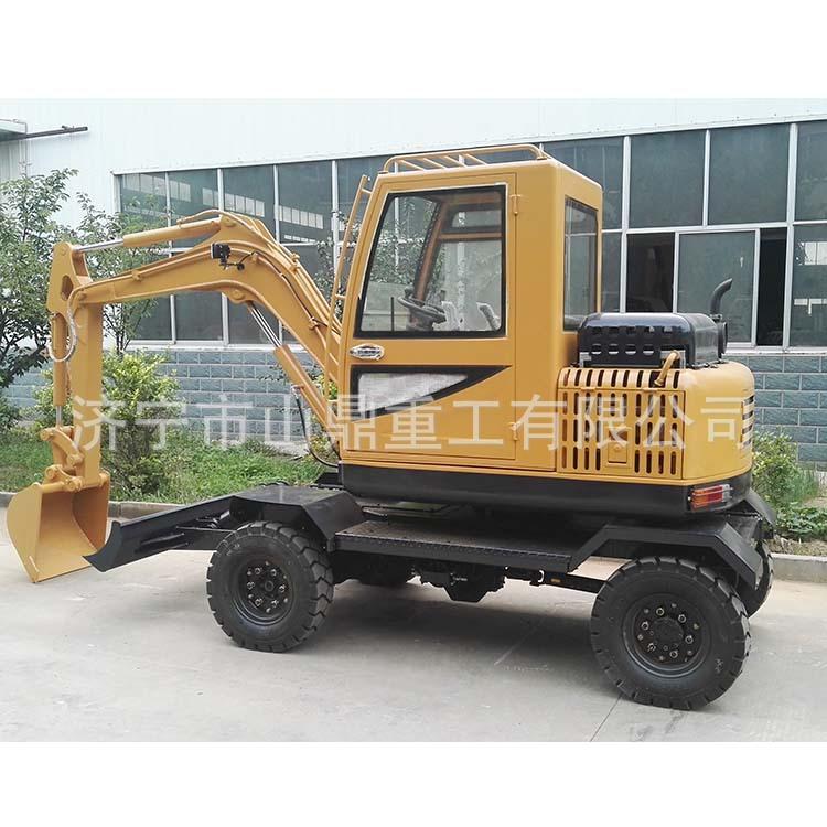 长期生产供应 轮式30挖掘机 3吨液压轮胎式挖机 质量保证