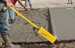 专业电动透水地坪摊铺机 彩色混凝土 滚动梁 整平机 道路神器