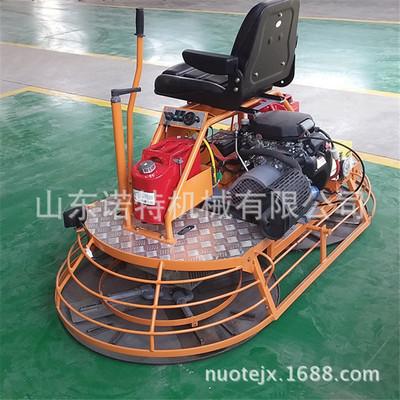 双磨盘座驾式混凝土抹光机 动力可选配汽油抹光机