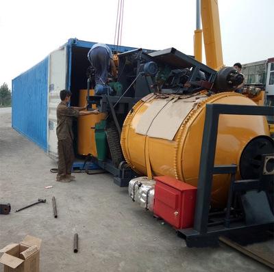 废旧沥青拌和机 沥青路面养护车,路面养护机械专业制造商