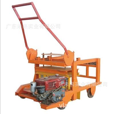 QM4-45制砖机 全自动制砖设备 砌块成型机 柴油制砖机 厂家直销