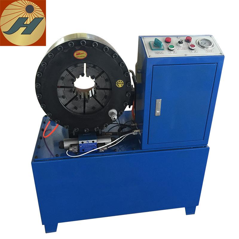 4寸高压胶管压管机 空调管扣压机 六边钢管缩管机 钢管扣管机