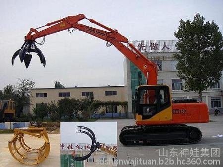 山东耐翔SW-60C履带式挖斗装砸机