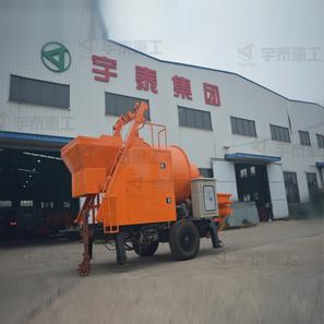 搅拌泵送一体机、搅拌车载泵