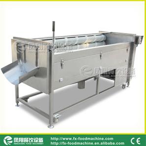凤翔MSTP-1000毛刷清洗机 砂辊清洗去皮机 洗菜机 土豆脱皮机