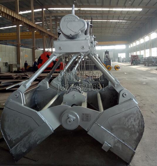 供应QZ型20吨抓斗桥式起重机  河南抓斗起重机厂家