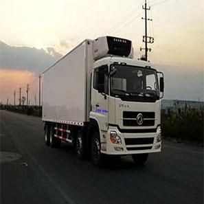 东风天龙9.4米18吨冷藏车(前四后八)