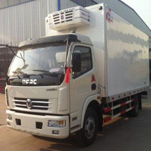 东风天锦7.8吨冷藏车