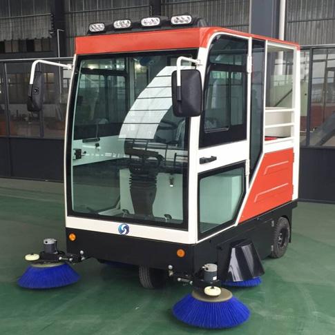 高洁GJ-2000纯电动全封闭智能清扫车