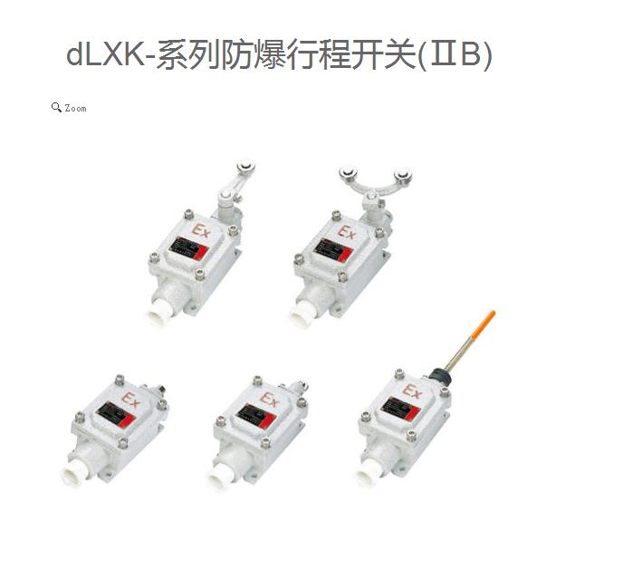 广东dLXK防爆行程开关 防爆行程开关 单轨 双规 规格型号 广东 厂家直销