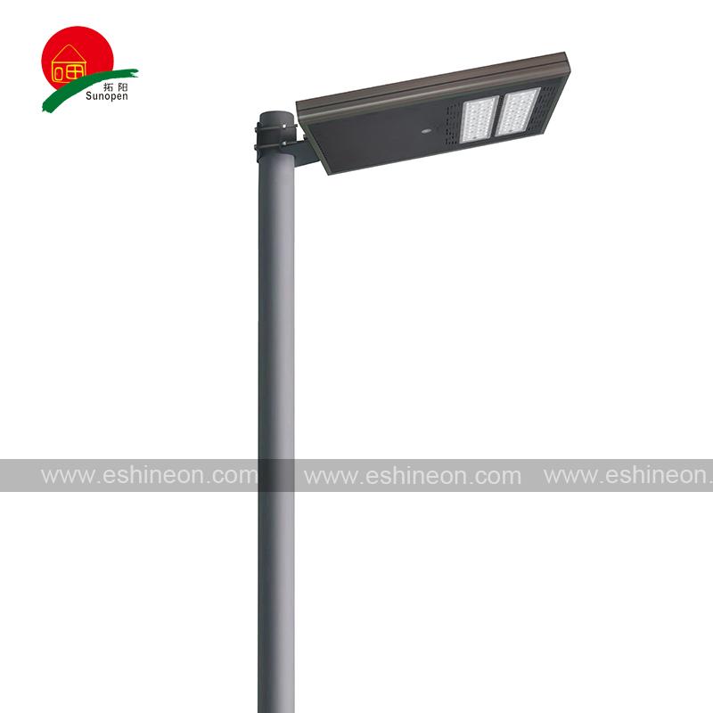 遥控一体化太阳能路灯锂电池太阳能路灯头6米太阳能路灯