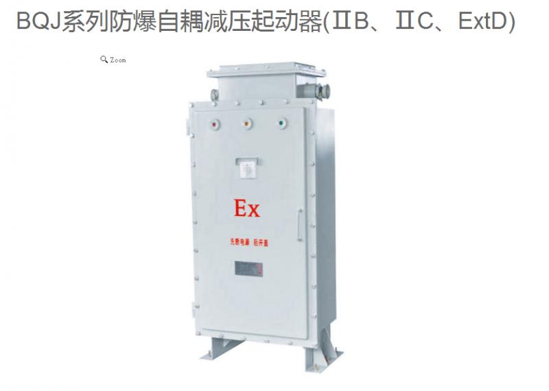 广东 厂家直销BQJ系列防爆自耦减压起动器 规格 型号  可定制