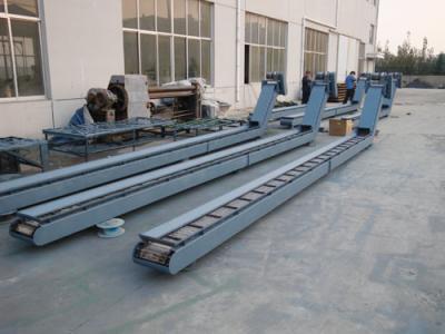 链板排屑器定做,磁性排屑机上门测量