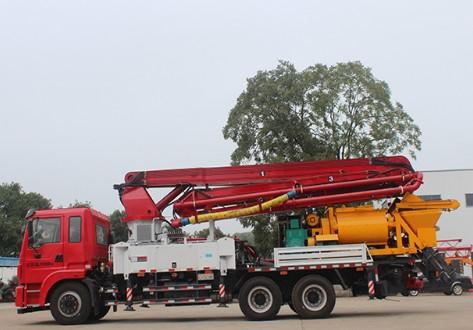 天拓重工性能优越价格便宜的混凝土泵车