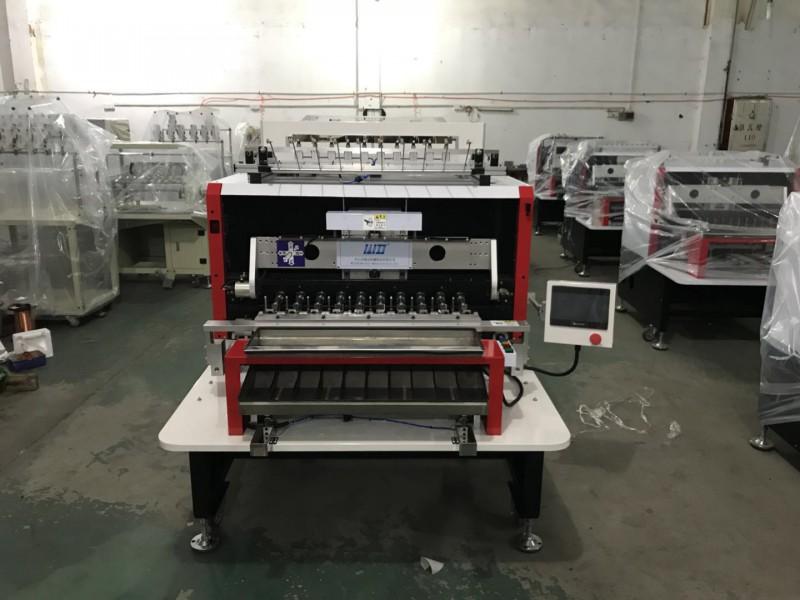 威定WDQZD-10全自动大屏触摸智能12轴变压器绕线机 电阻丝弹簧线绕线机  全自动绕线机厂家