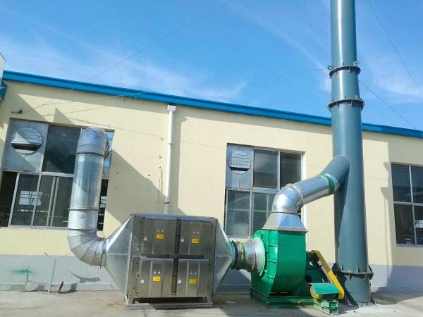 山东UV光解24K净化器案例--万凯环保 废气处理设备