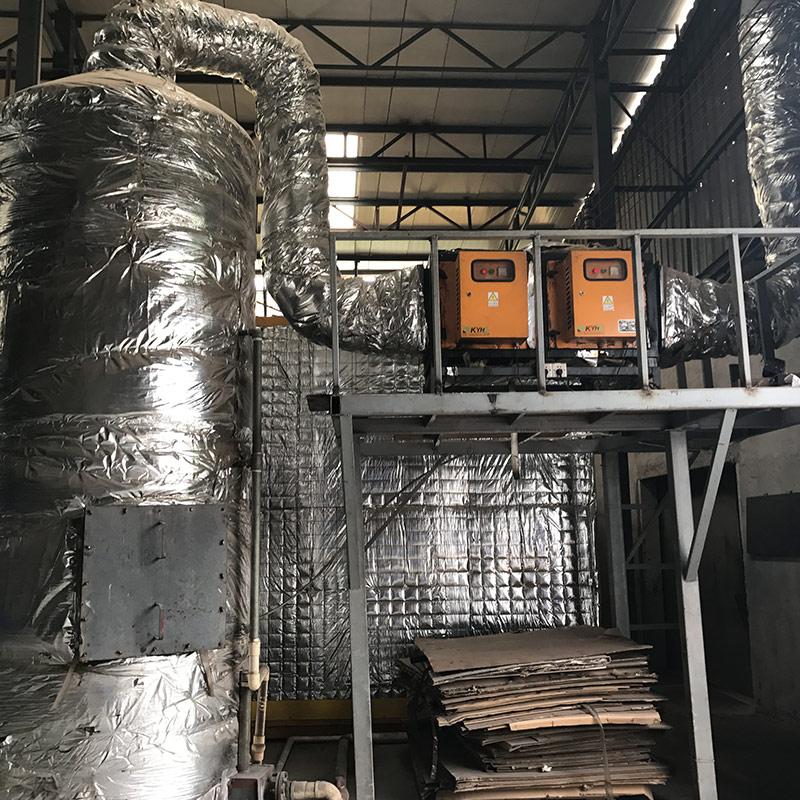 金荣华乐金属制品有限公司 万凯环保 废气处理设备