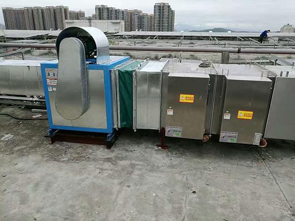 深圳比亚迪汽车电子 万凯环保 废气处理设备