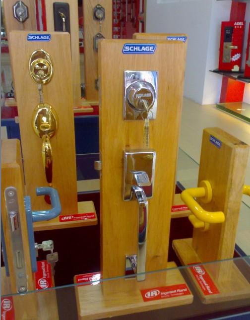 安朗杰SCHLAGE西勒奇F360-CEN-625大门锁/住宅锁
