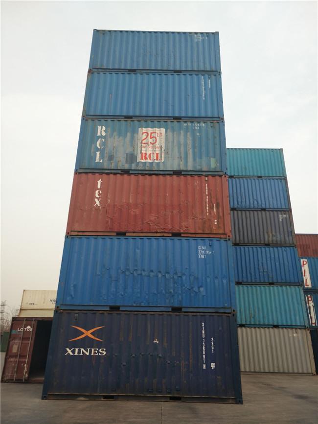 批发零售二手集装箱 海运集装箱 小大高 飞翼箱改造等