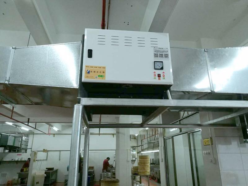 卡莱医疗厂厨房油烟净化工案例程 废气处理设备