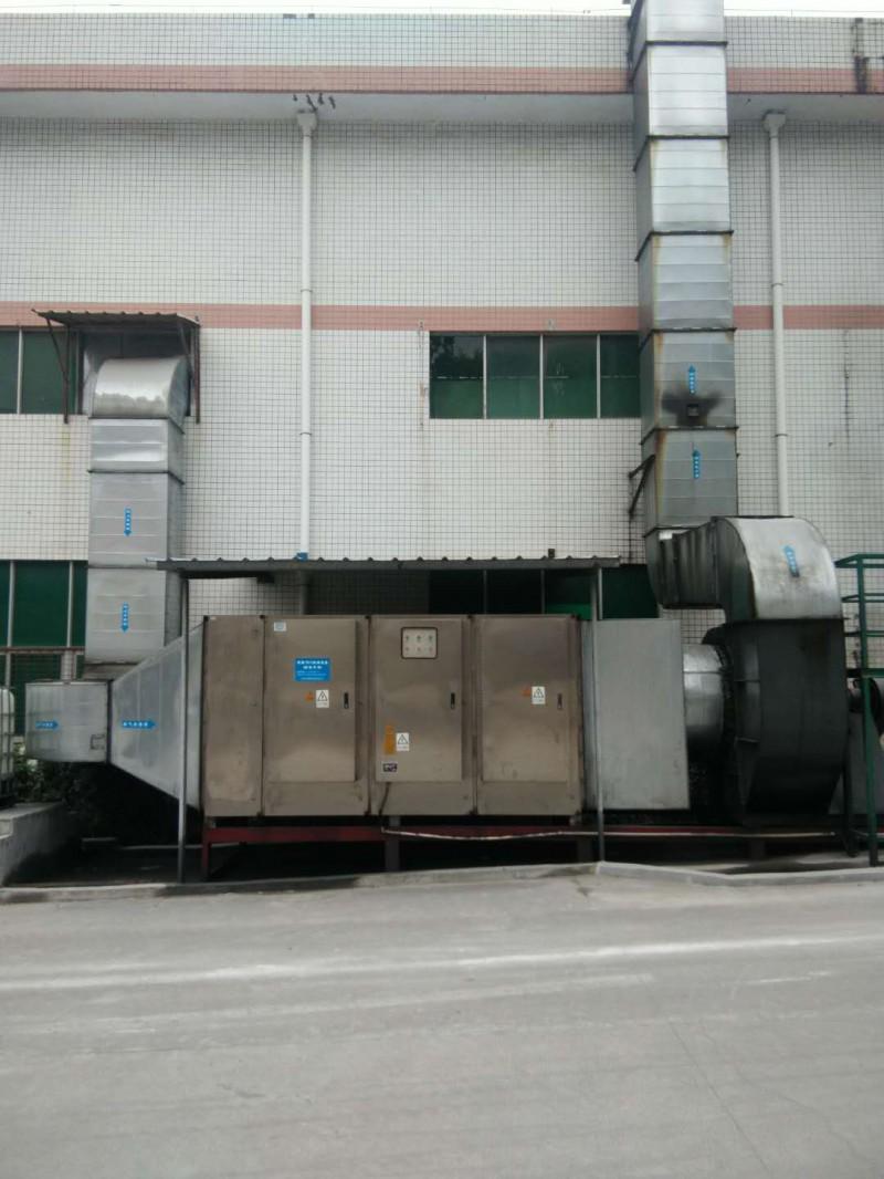 深圳南方中集东部物流装备有限公司案例--万凯环保 废气处理设备