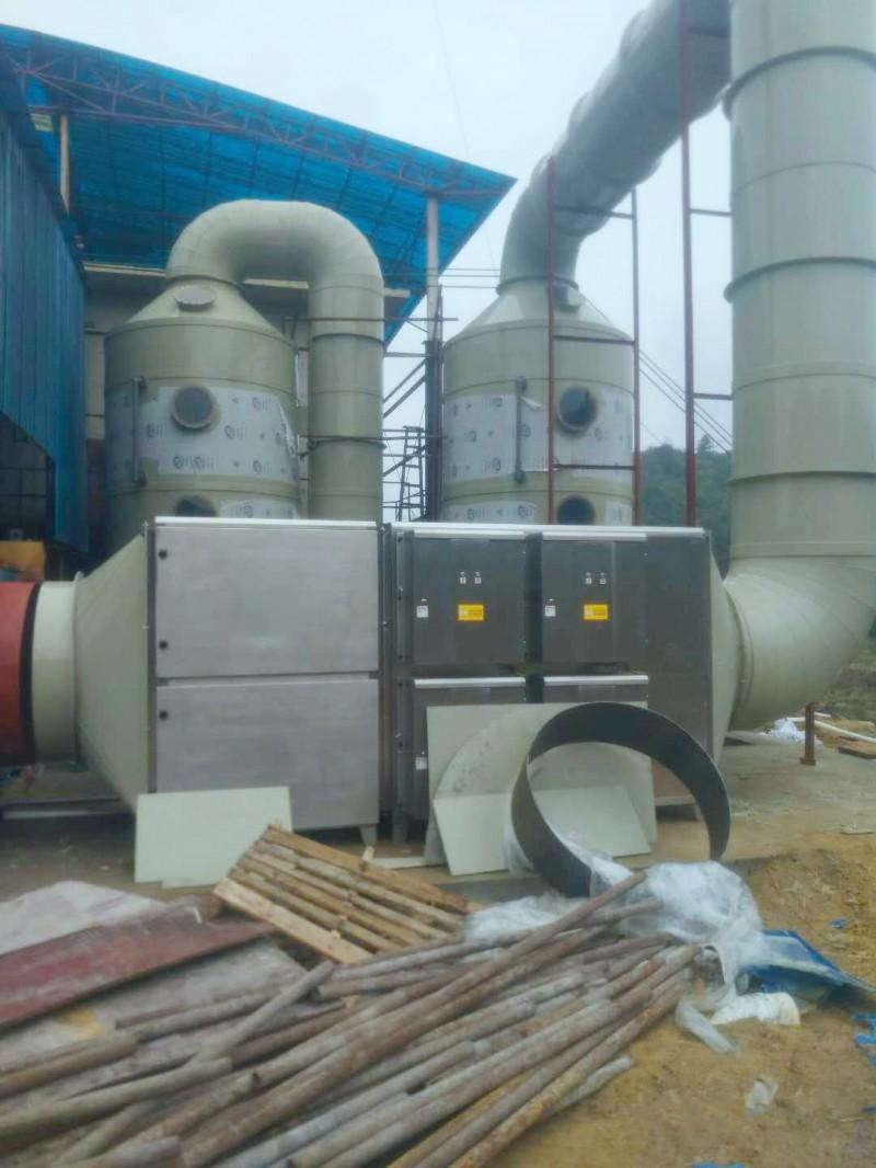 广东志达行新材料有限公司 废气处理设备