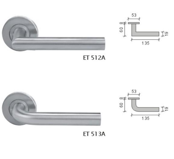 SCHLAGE西勒奇ET512A-C-SS/513门锁