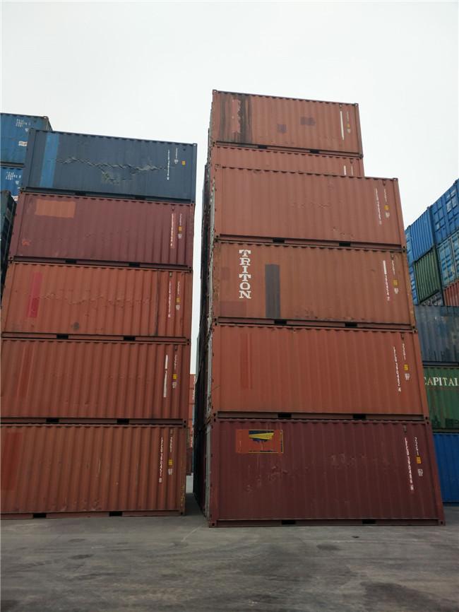 天津港各种新旧集装箱 海运箱 冷藏集装箱出售