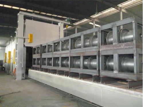 燃气退火炉,工业燃气台车炉