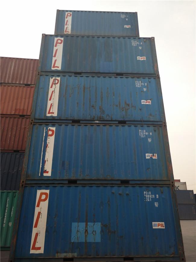 各种二手集装箱 海运货柜 自备箱 冷藏集装箱出售