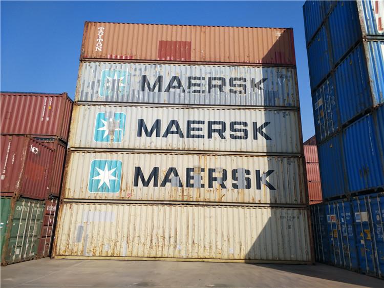 天津港二手集装箱 海运出口箱20GP 40GP 40HC
