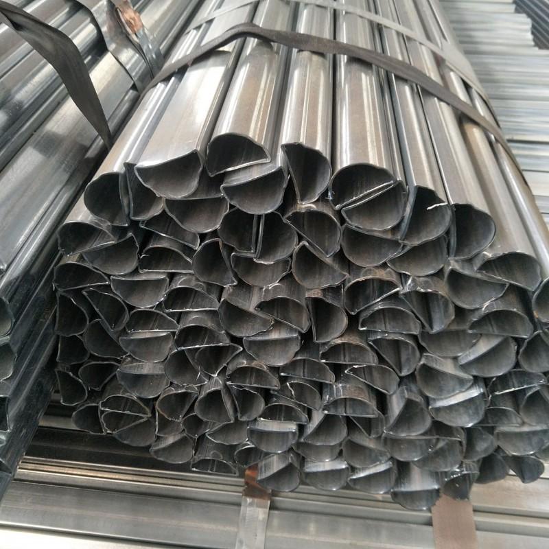 51*55镀锌面包管/护栏面包管生产厂家