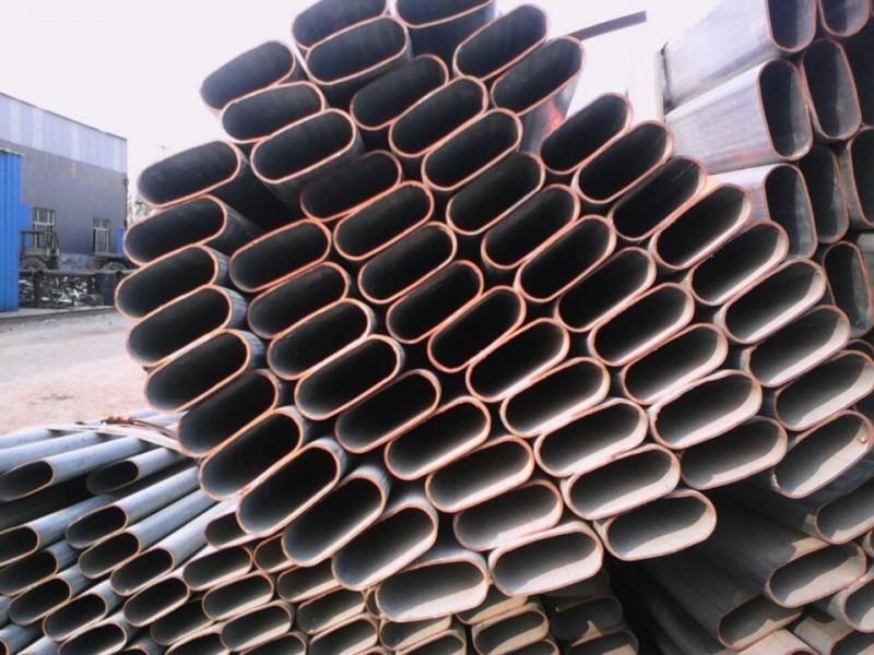 50*100黑退腰圆管-黑退腰圆管生产厂家
