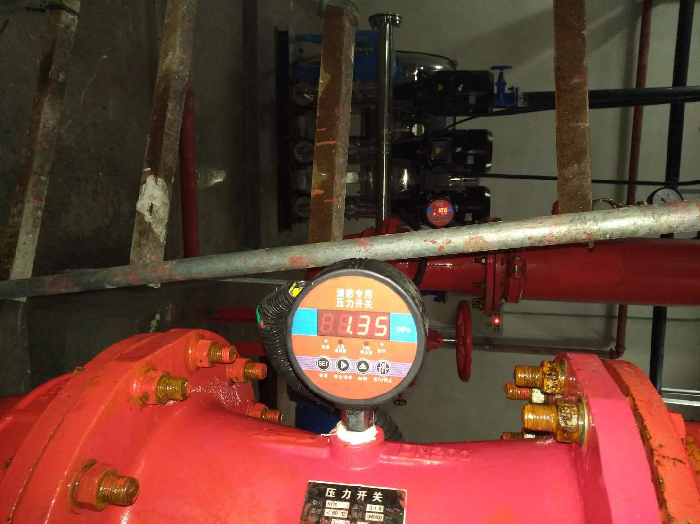 消防低压压力开关的安装使用说明