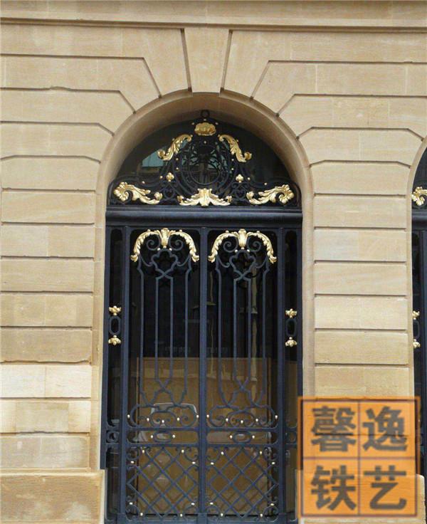 馨逸装饰定制化高端铁艺大门 北京上门安装 设计 铁艺围栏楼梯