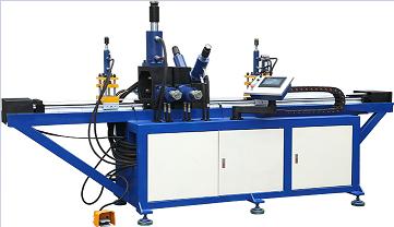 供应SK-CKJ型液压数控货架冲孔机,展示架冲孔机,立柱冲孔机