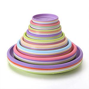 塑料 花盆托盘家用园艺接水盘底盘圆形花托加厚大号盆垫树脂底座