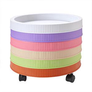 厂家直销 塑料 圆形活动盆垫