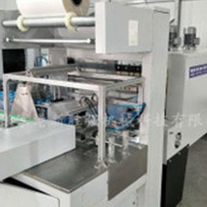 全自动套膜收缩包装机 高速膜包机覆膜机厂家 热收缩膜包机现货