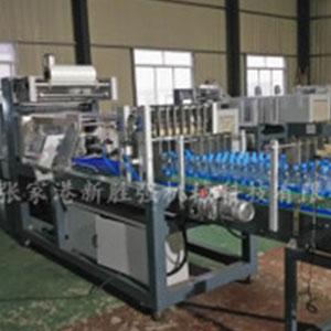 现货供应矿泉水饮料包装机 果汁碳水饮料膜包装机啤酒饮料膜包机