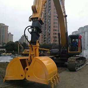 供应挖掘机三节臂伸缩臂加长臂岩石臂可定制