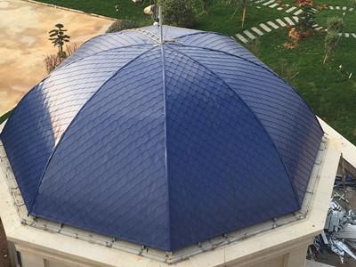 CX-P穹顶平锁扣屋面板 钛锌板