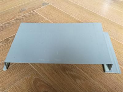 CX-W305(350)纯平隐藏式墙板 钛锌板