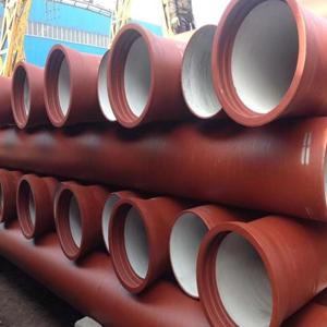 新兴球磨铸铁管 供应dn600大口径给水球磨铸铁管 k9球磨铸铁管   球墨铸铁管