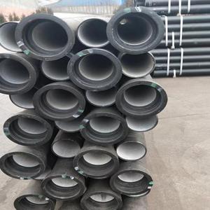 源头工厂给水管道用 dn400给水球墨铸铁管 k9排水球墨铸铁管价格 球墨铸铁管