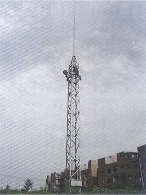 信丰公司直销升降式高杆照明灯塔制作安装
